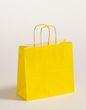Geschenktasche Papiertragetaschen Gelb 25x11x24cm VE 250 Stück