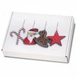 Maxibrief Weihnachtskartons Nikolaus 20 St. A4+/B4, Weiß