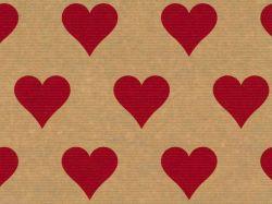 Große Papier Tragetüte Herzen 32+12 x 40cm VE 250 Stück – Bild 2