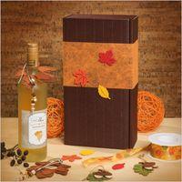 Weinpräsentkarton Geschenkverpackung Schoko für 2 Flaschen VE 25 Stück – Bild 2