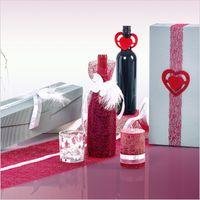 Weinverpackung Präsentkarton Modern Welle Silber Grau 3er 25 Stck – Bild 5