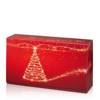 Weinverpackung Geschenkkarton Weihnachten Christmas Tree 2er 25 Stück – Bild 1