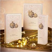 Flaschenverpackung Flaschenkarton Weihnachten Goldglanz 1er FS 50 St. – Bild 2