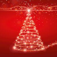 Flaschenverpackung Weihnachten 1er Faltschachtel Christmas Tree VE 50 Stück – Bild 2