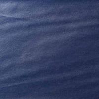 Geschenkpapier Secare Rolle Dunkelblau Kraftpapier gerippt 50cm x 200m