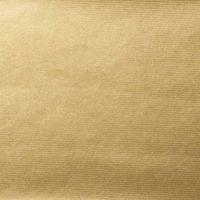 Geschenkpapier Secare Rolle Gold Kraftpapier gerippt 50cm x 200m