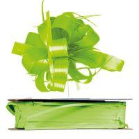 Geschenkschleife Ziehschleife Country hellgrün 25 mm x 40 m
