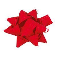 Fertigschleifen Stelle Raphia Rot selbstklebend 80 Stück – Bild 1