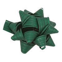 Fertigschleife Stelle Raphia Grün selbstklebend 80 Stück