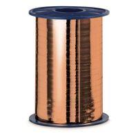 Geschenkband Ringelband Metallic-Kupfer 5 mm x 400 m