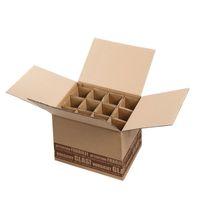 Flaschenversandkartons Flaschenverpackung Bier 12er DHL/PTZ 15 Stück  – Bild 2