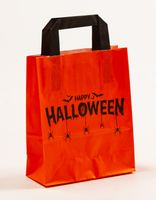 Papiertragetaschen Happy Halloween 18 x 8 x 22 cm VE 250 Stück