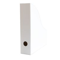 Stehordner Stehsammler für A4 Format aus Recyclingkarton in Diamant Weiß – Bild 1