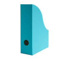 Stehsammler Stehordner für A4 Format aus Recyclingkarton in Azur Blau – Bild 1
