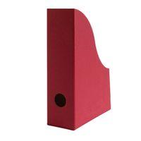Stehsammler für DIN A5 Format aus Recyclingkarton in Bordeaux – Bild 1
