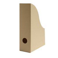 Stehsammler Stehordner Pappe A5 Format aus Recyclingkarton in Natur – Bild 1