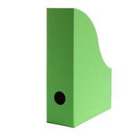 Stehsammler für DIN A5 Format aus Recyclingkarton in Apfelgrün – Bild 1