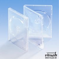 DVD-Box transparent VE: 25
