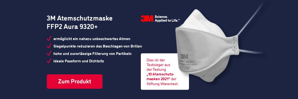 3M Atemschutzmaske FFP2 Aura 9320+