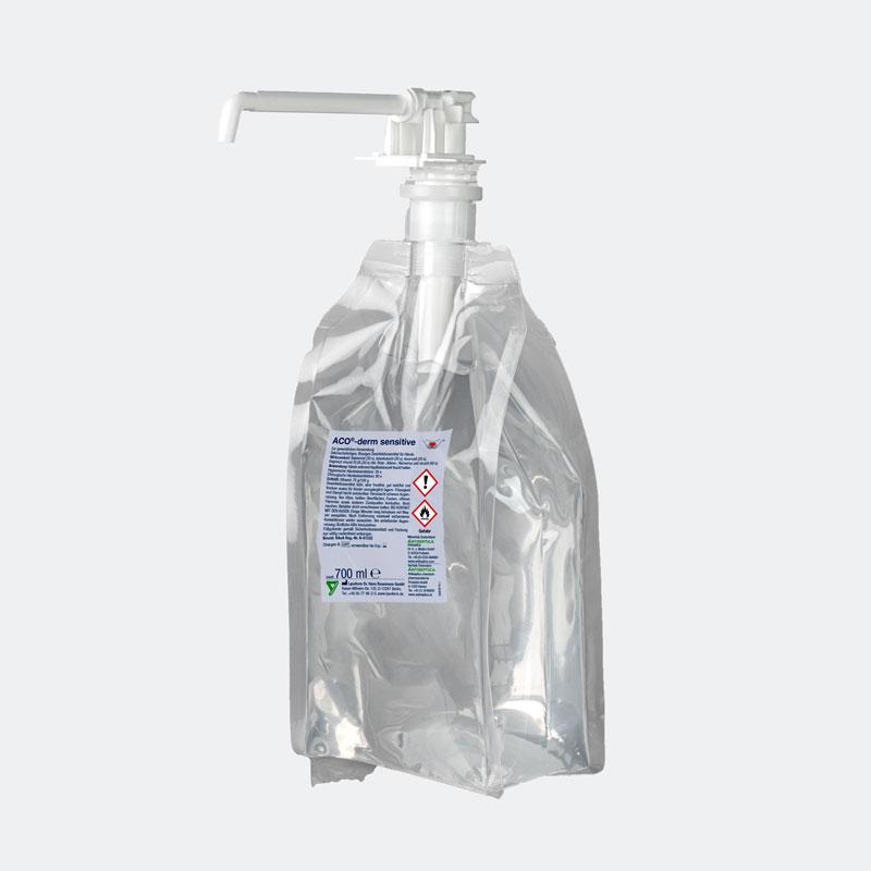 HyBag ACO-derm sensitive Händedesinfektionsmittel 700ml biozid