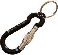 Aliens Zubehörkarabiner Mini Ring Screw (6 cm lang, Schlüsselring 2,5 cm, Schraubkarabiner)
