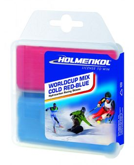 Holmenkol Worldcup Mix COLD Red-Blue 70 g