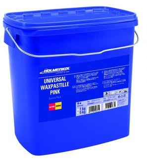 Holmenkol Universal Wax Pastille PINK 5000 g