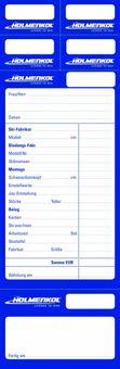 Holmenkol Repair Card - Skiserviceaufkleber  50 Stück