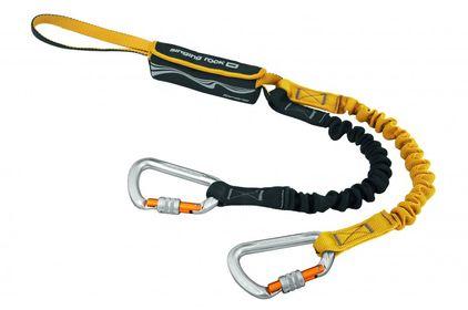 Singing Rock Klettersteigset Tofana Complete (Keylockkarabiner, Bandfalldämpfer) gelb/schwarz
