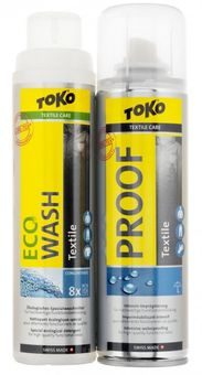 Toko Duo-Pack Textile Proof&Eco Textile Wash