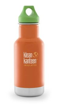 Klean Kanteen® 355 ml Kid Kanteen Trinkflasche Vacuum Insulated (mit Loop Cap)