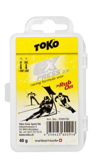 Toko Express Racing Rub-On 40 g, Aufreibewax