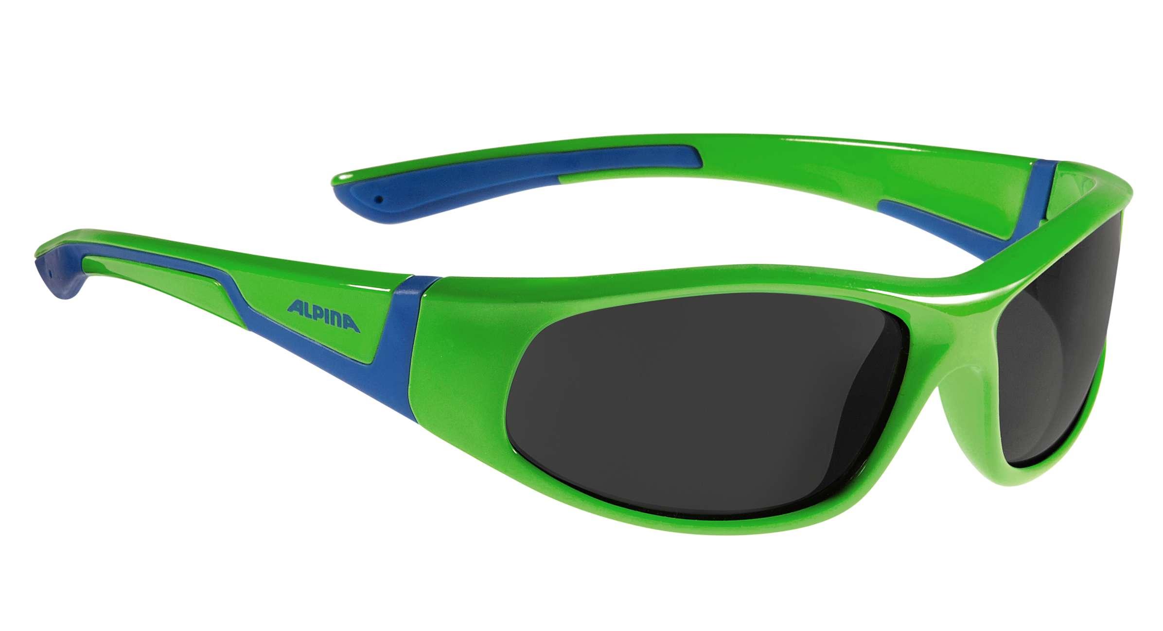 Alpina Kindersonnenbrille Flexxy Junior (6 bis 9 Jahre) mit flexiblem Rahmen black-grey nkvsf41OR