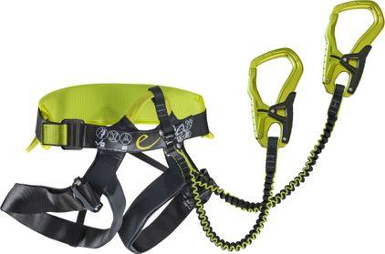 Klettersteigset Funktionsweise : Edelrid klettergurt mit integriertem klettersteigset jester comfort
