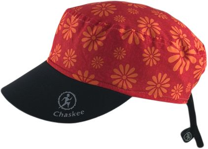 Chaskee Reversible Cap Happy Flowers mit Neoprenschild (Wendemütze, UV 80)