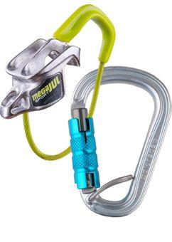 Edelrid Sicherungsgerät Mega Jul Sport Belay Kit Steel Triple