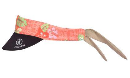 Chaskee Visor Snap Cap Native Hawaii mit Neoprenschild (als Stirnband oder Mütze nutzbar, mit Nackenschutz, UV Schutz 60)