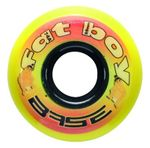 Base Indoor Fat Boy Goalie Inline Hockey Wheel - 74A Pack