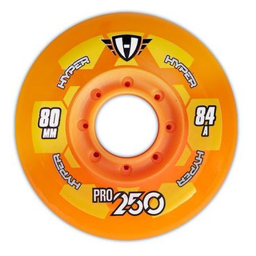 Hyper Pro 250 Inline Hockey Wheel 84A (4 Pack)