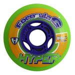 Hyper Formula G Inline Hockey Wheel 74A (4 Pack)