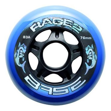 Base Rage II Outdoor Inline Rollen - 83A (Set of 4)