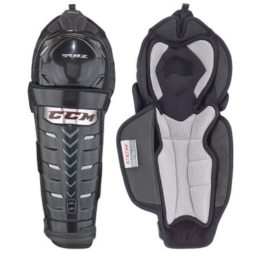 CCM RBZ 150 Shin Guards Senior Front View
