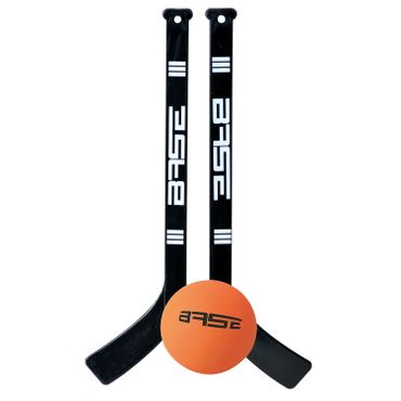 "Base Roller Hockey Goal  32 ""including 2 mini-sticks and Softball"