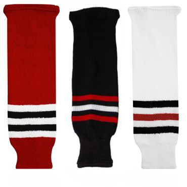 Sherwood NHL Blackhawks Hockey Socks Bambini - Junior - Senior