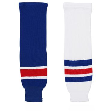 Sherwood NHL Rangers Hockey Socks Bambini - Junior - Senior Side View