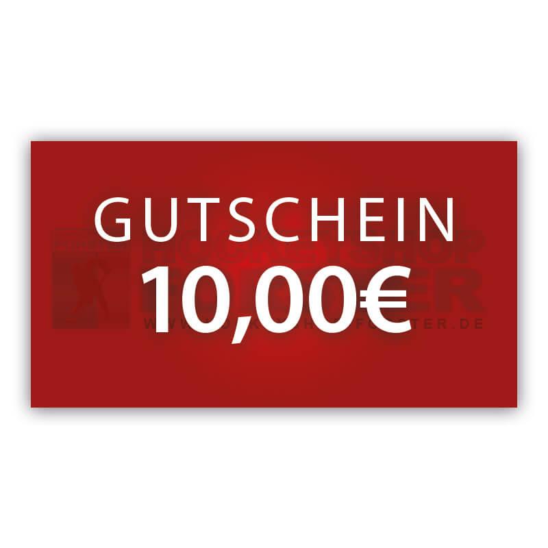Online Gutschein 10€