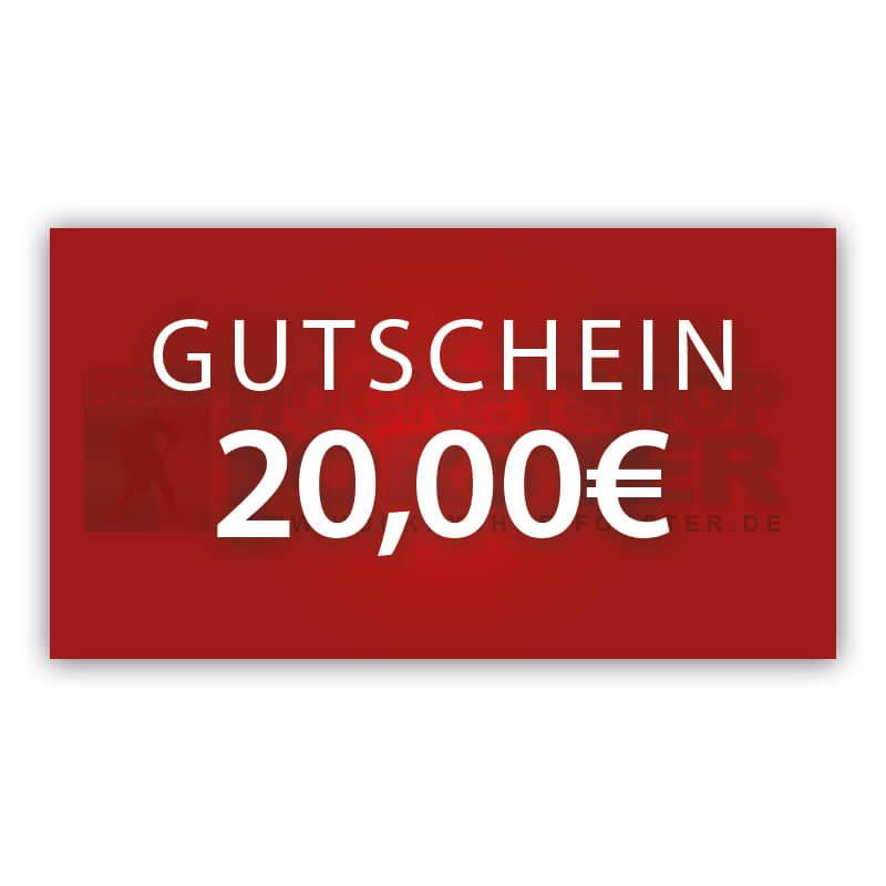 Online Voucher 20€