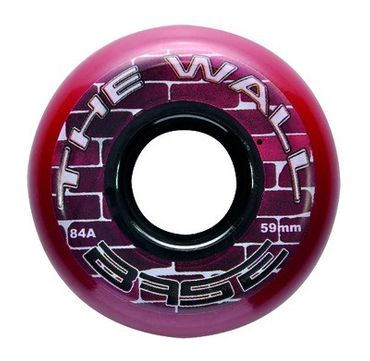 Base Outdoor The Wall Goalie Inline Hockey Wheel - 83A Pack