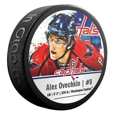 Blister NHL Star-Player Puck