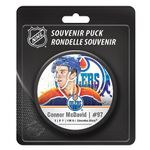 Blister NHL Star-Player Pucks McDavid